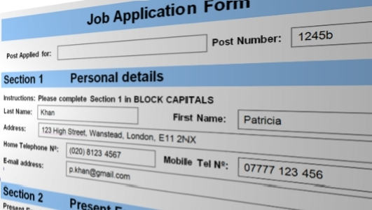 Top Tips For Completing Application Forms  Theemployable