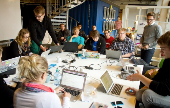 A Garage, a Sauna and some Uni Students? The Aalto Venture Garage – putting the cool into ...