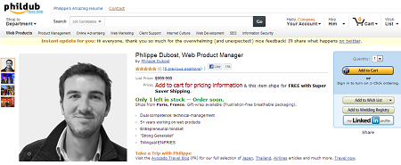 Philippe Dubost Amazon Page